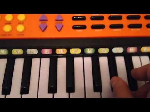 Обучение игре на фортепиано и синтезаторе для начинающих
