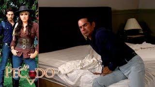 Mi Pecado - Capítulo 92: ¡Lucrecia hiere a Carmelo y escapa! | Televisa