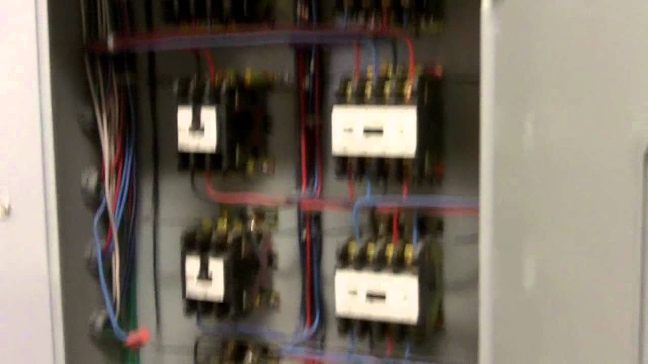 Electrical Wiring Lighting Contactor Youtube Latching Diagram