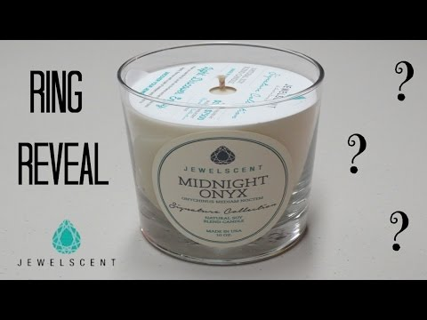 JewelScent Ring Reveal - Midnight Onyx Candle!