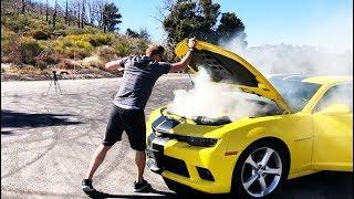 Camaro по цене Соляриса. Что с двигателем? Дрифт в Каньоне. #2