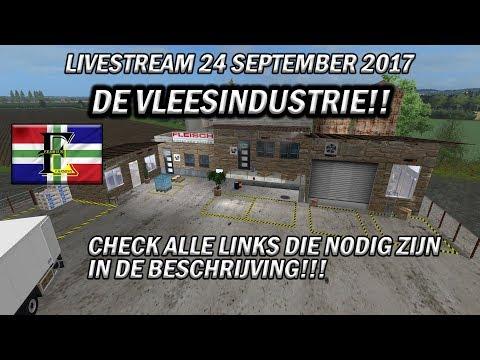 Farming Simulator 2017 Livestream! Eemhuus en Ko Sjotten op Papenburg!! Vleesindustrie!!!
