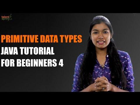 Primitive Data Types | Java Tutorial for Beginners 4 | TalentSprint