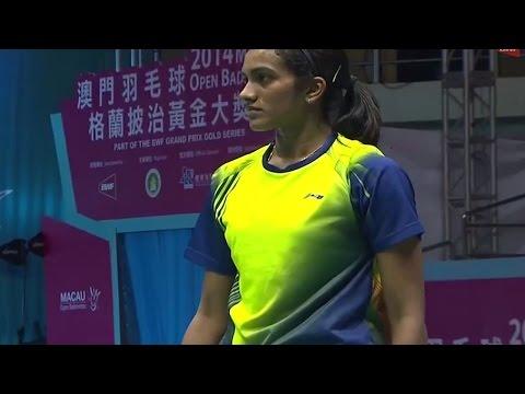 |F| Match 3 Macau Open Badminton Championships 2014