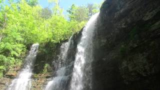 Ozarks Triple Falls Buffalo River Arkansas