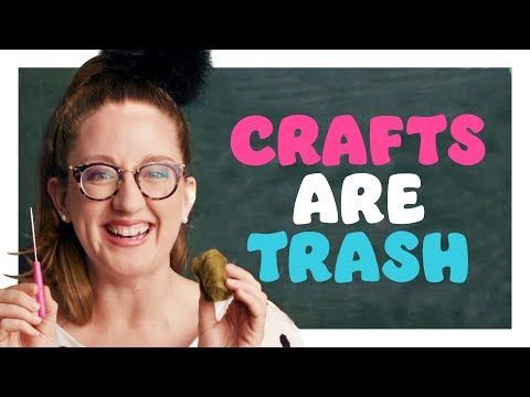 3 Adorable Crafts You Can Immediately Trash