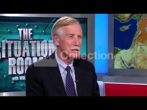 SEN. ANGUS KING-ISIS LEADER WOUNDED