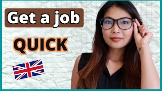 HOW TO FIND A JOB IN THE UK I Job search TIPS to find a job QUICKLY as a FOREIGNER in the UK screenshot 3