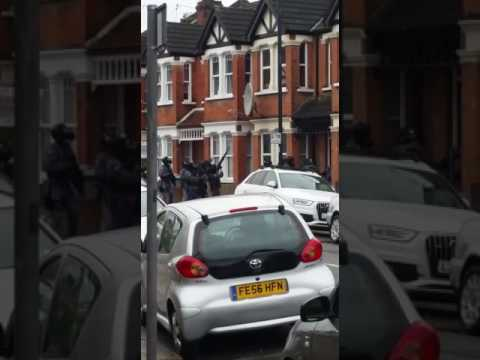 Police Conduct Raid in North West London