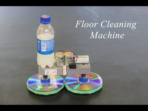 How To Make A Floor Cleaning Machine