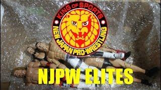 CRAZY CUSTOM NJPW ACTION FIGURE Unboxing - WWE Figure Customs