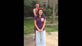 Emma Harrold's Ice Bucket Challenge