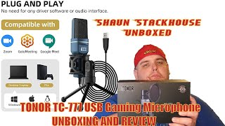 TONOR TC-777 Table Microphone Unboxing