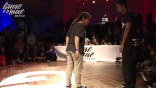 GROOVE'N'MOVE BATTLE 2015 - Popping round of sixteen / Geni Lou vs Celso Boog