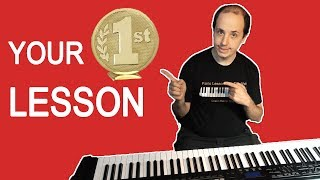 Easy Piano Lessons for Beginners - Your First Lesson on the Piano