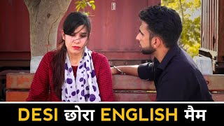 Desi छोरा English मेम | Emotional Love Story | Robinhood Gujjar