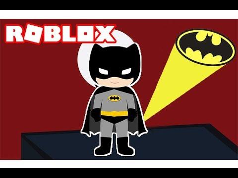باتمان الحقيقي فى لعبة roblox !!🔥