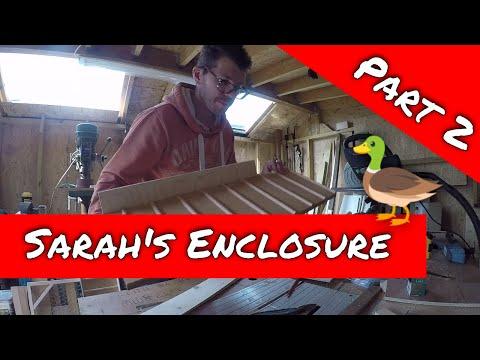 Home Farming | Sarah's enclosure Pt 2 - DIY Workshop build & duck confusion