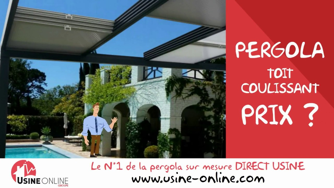 Tarif Pergola Toit Coulissant Youtube