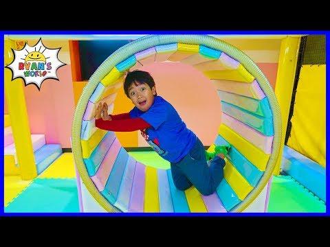 Indoor Playground for Kids with Ryan's World!!!
