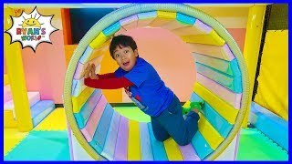 Indoor Playground for Kids with Ryan's World!!!