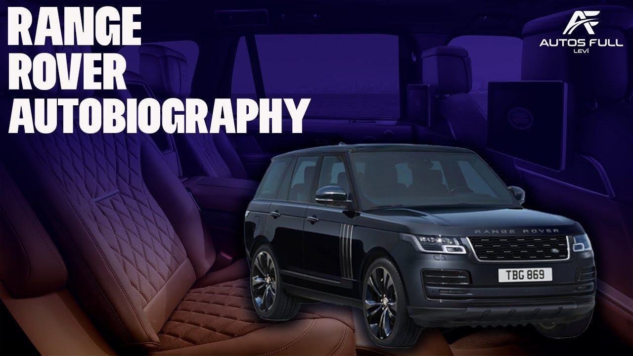 Land Rover Range Rover Autobiography 2021   El Lujo a otro Nivel