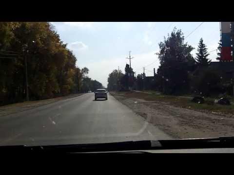 Котелино - Кадом - Сасово - Шацк / Kotelino - Kadom - Sasovo - Shatsk 27/09/2014 (timelapse 4x)