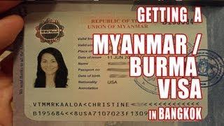 How to Get a Myanmar Visa in Bangkok, Thailand