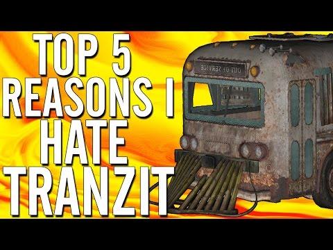 "*Rant* ""Top 5 Reasons Why I HATE TranZit"" @Treyarch @SniparsSweg ""Top 5 Reasons TranZit Sucks""!"