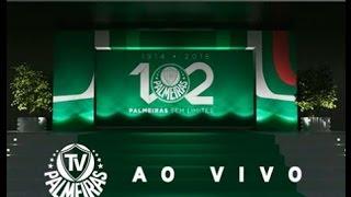 Evento oficial de 102 anos do Palmeiras - parte I