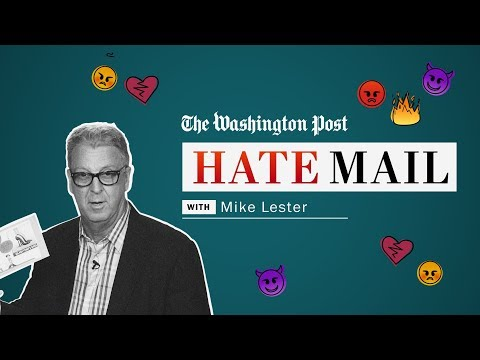 Washington Post Hate Mail: Mike Lester