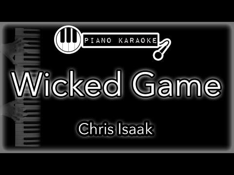 Wicked Game - Chris Isaak - Piano Karaoke Instrumental
