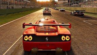 Project CARS 2 - Gameplay Ferrari F50 GT @ Imola [4K 60FPS ULTRA]