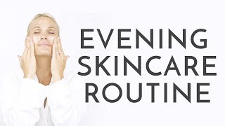 My Evening Skincare Routine | Molly Sims