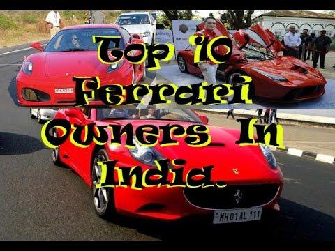 Top 10 Ferrari Owners Celebrities In India