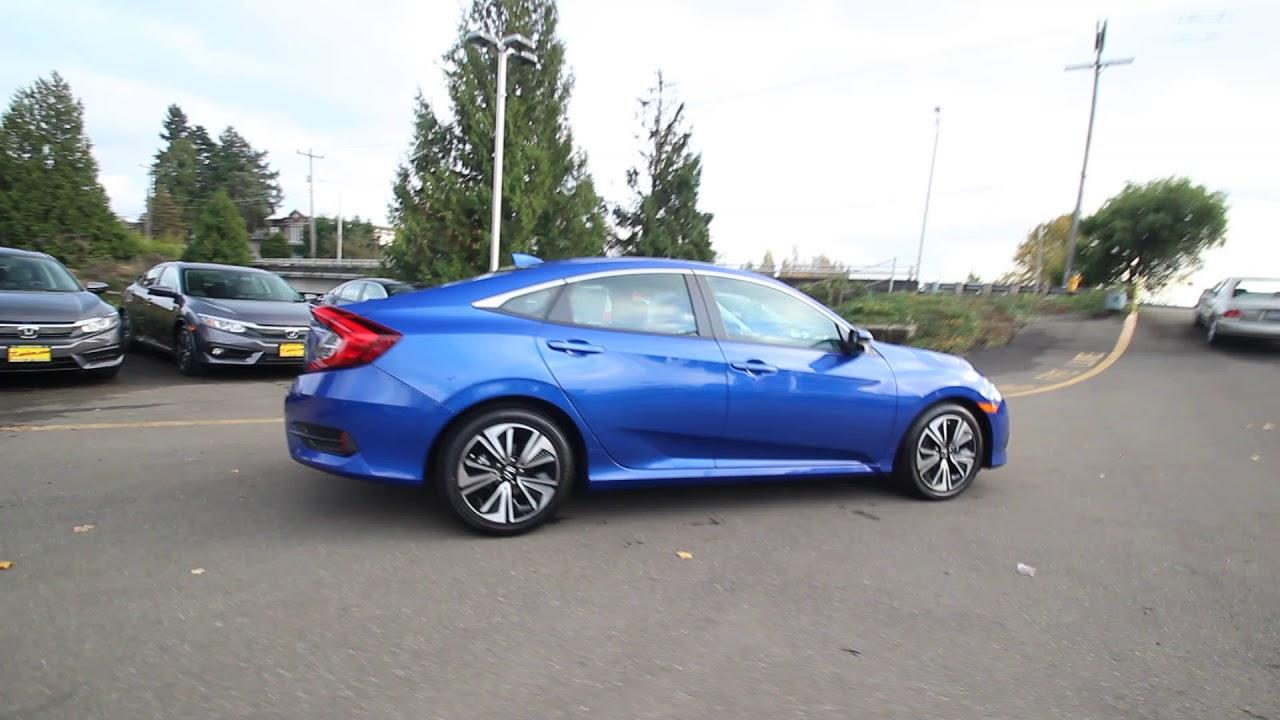 Honda Civic Ex T Aegean Blue Metallic