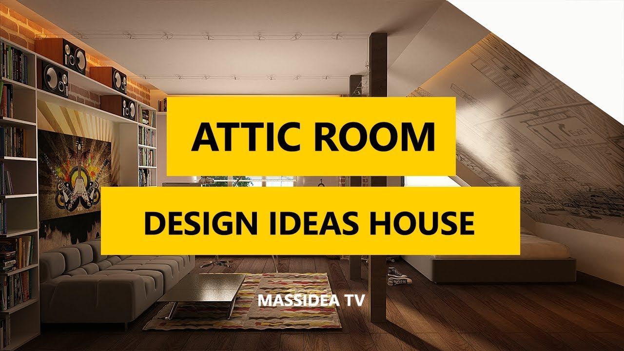Attic Room Ideas Part - 35: 50+ Epic Attic Room Design Ideas For Your House 2017