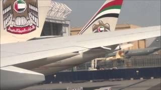 Ultra Long Haul Experience Etihad Airways Abu Dhabi to Los Angeles PART 1/2