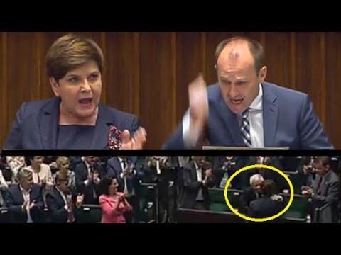 Premier Szydło nie wytrzymała histerycznego wystąpienia posła Nowoczesnej
