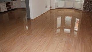 Čím vyčistit PVC podlahy a nanesení ochranné vrstvy