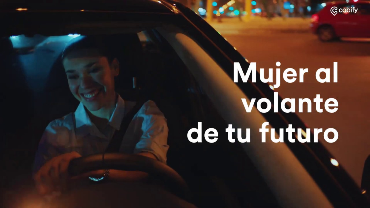 Mujer al volante, te estamos esperando | Cabify