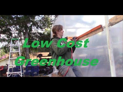 DIY Re-Purposing a Carport into a Greenhouse