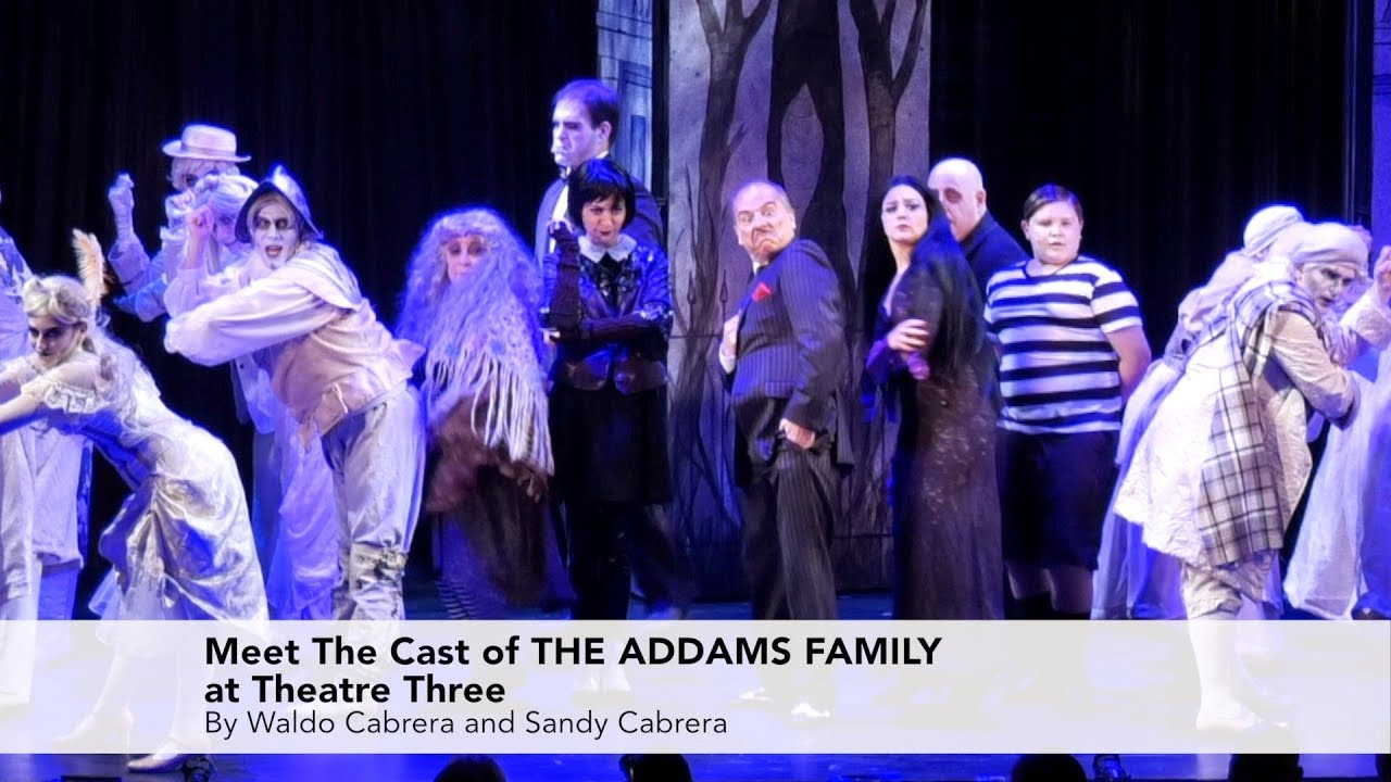 Meet The Cast of The Addams Family at Theatre Three in Port Jefferson