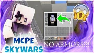 "MCPE Skywars Challenges Ep.#1| No Armor ""IM NAKED!"""