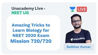 Amazing Tricks To Learn Biology & Remember Examples for NEET 2020 by Baibhav Kumar | Unacademy NEET
