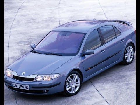 Renault LAGUNA II 2003 моя первая машина