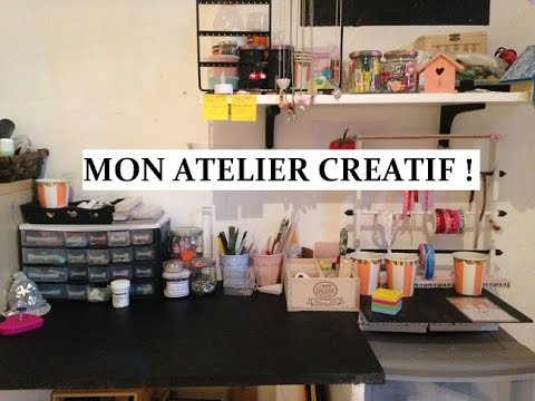mon atelier creatif youtube. Black Bedroom Furniture Sets. Home Design Ideas