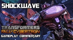 Transformers Fall of Cybertron - Shockwave Multiplayer Gameplay & Armor Set w/ Commentary