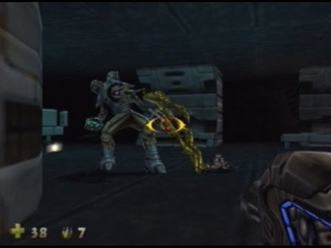 Turok 2 : Seeds of Evil - 100% Walkthrough Guide, 'HARD DIFFICULTY NO AUTO-AIM', Level 6 Part 4