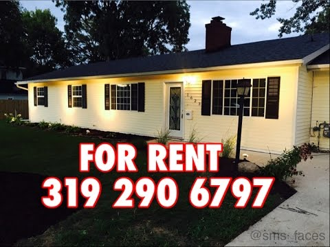 FOR RENT In Waterloo Iowa 319 290 6797 Renovated 3 Bed With Car Garage NICE